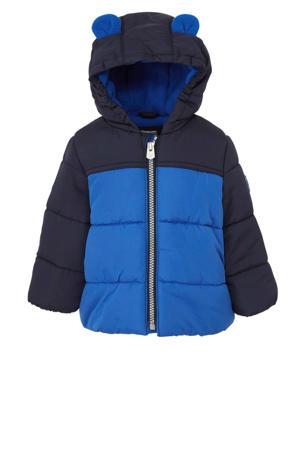baby winterjas blauw