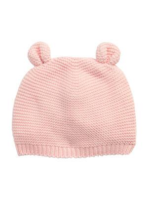 babymuts roze