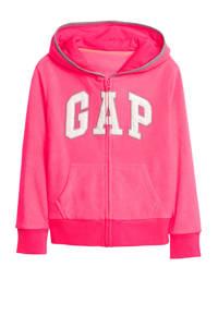 GAP fleece vest met logo roze, Roze