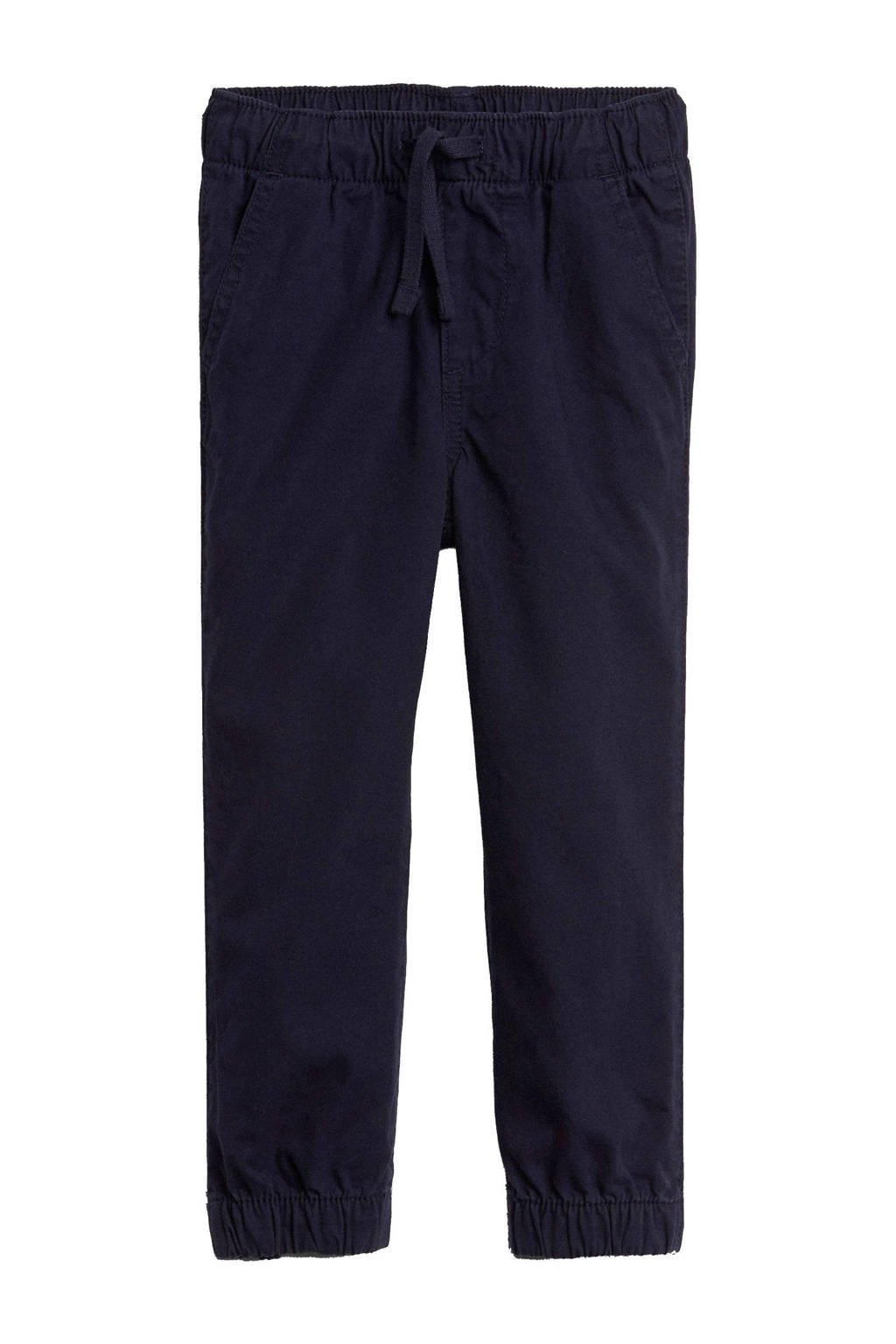 GAP tapered fit broek donkerblauw, Donkerblauw