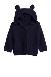 GAP baby vest met 3D applicatie donkerblauw, Donkerblauw