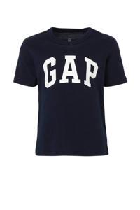 GAP T-shirt met logo donkerblauw, Donkerblauw