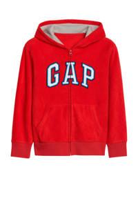 GAP fleece vest met logo rood, Rood