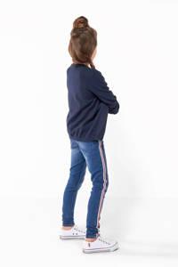 HEMA fijngebreid vest Carlijn donkerblauw, Donkerblauw
