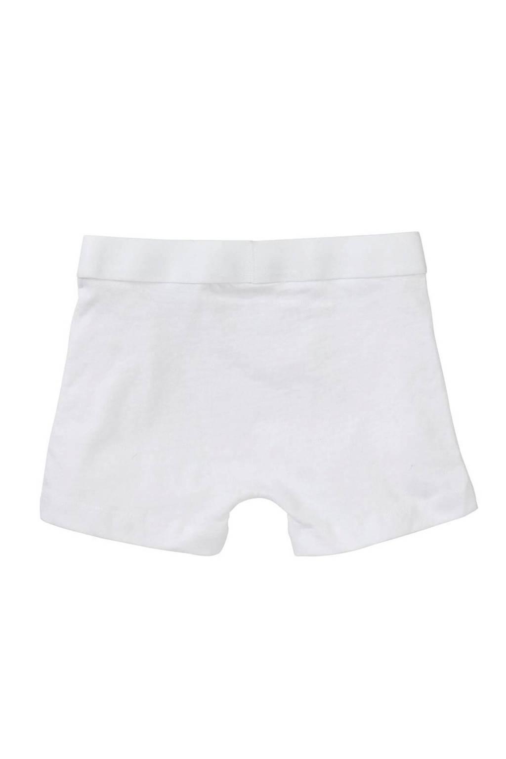 HEMA   boxershort - set van 3, Wit