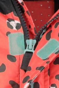 HEMA ski-jack met all over print roze, Multicolor