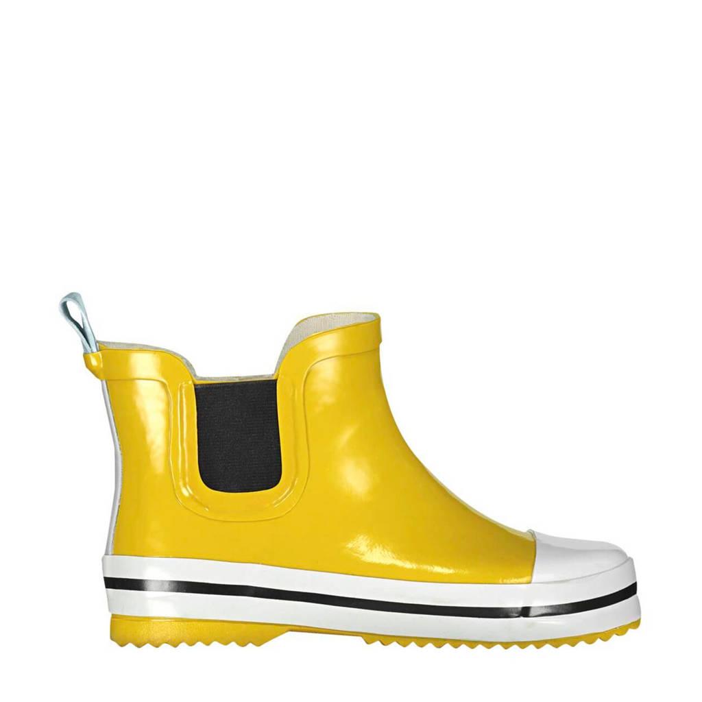 HEMA   regenlaarzen geel kids, Geel