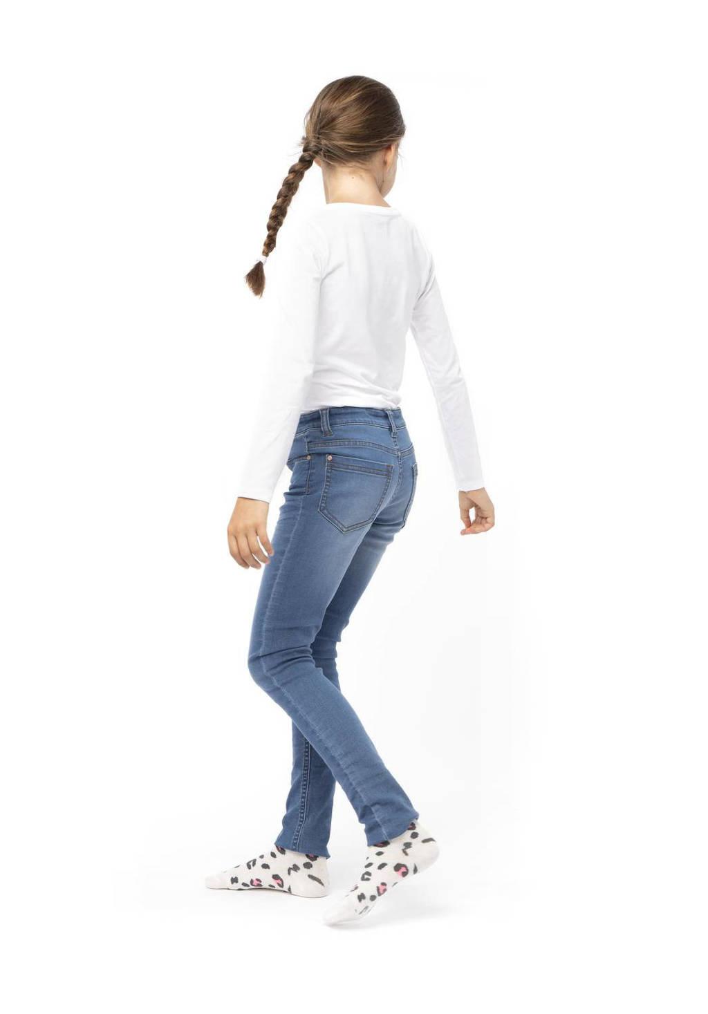 HEMA slim jeans, Light denim