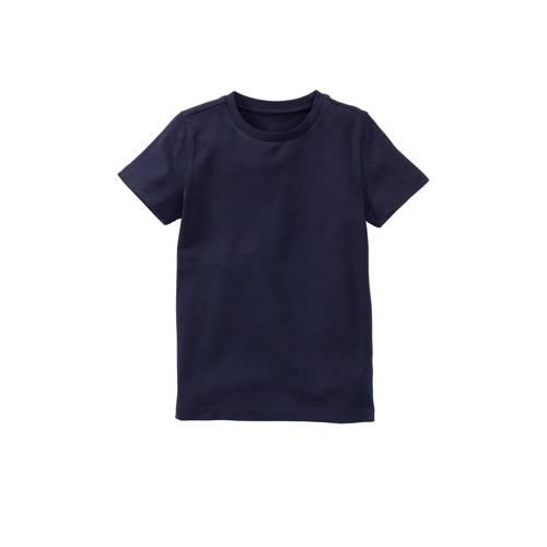 HEMA T-shirt met biologisch katoen donkerblauw