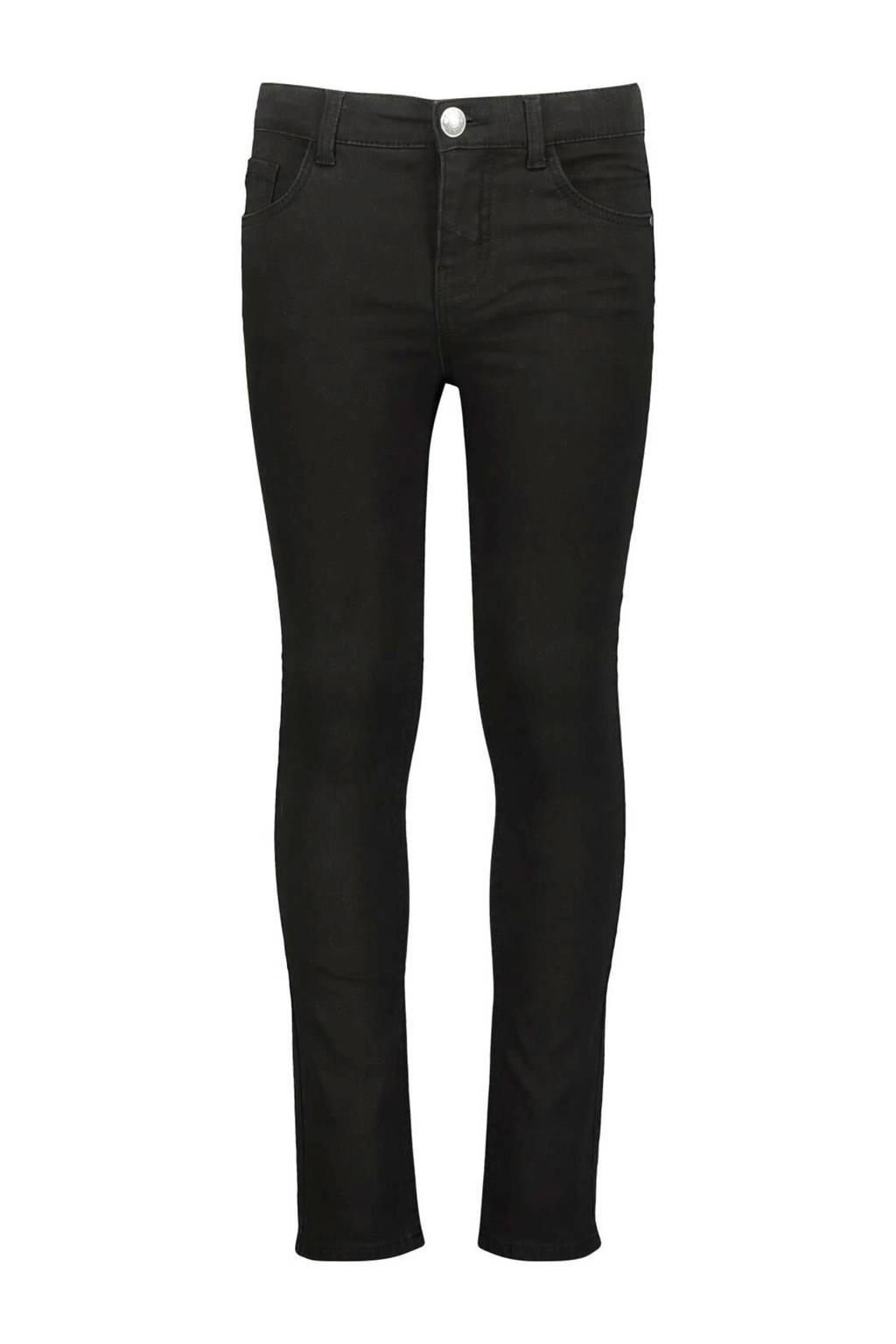HEMA skinny jeans Pim zwart, Zwart