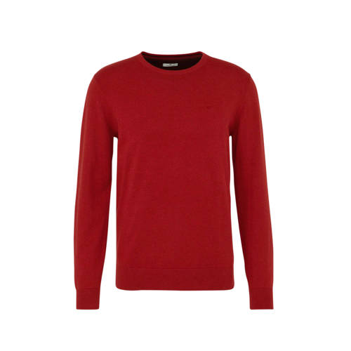 Tom Tailor gem??leerde trui rood