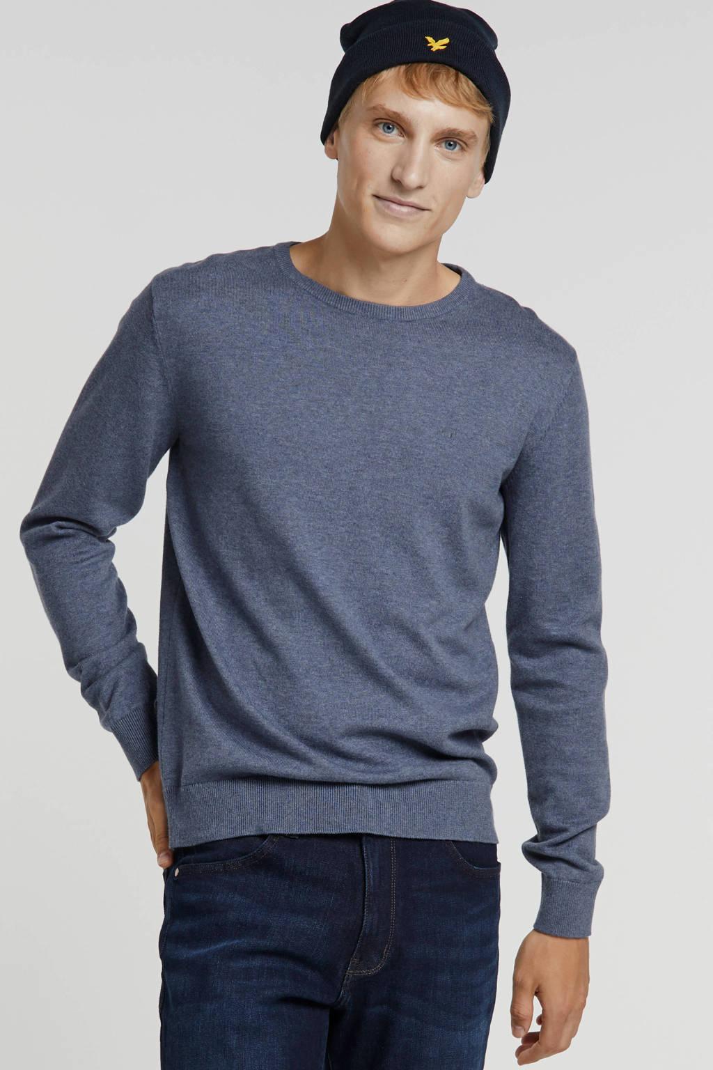 Tom Tailor trui grijsblauw, Grijsblauw