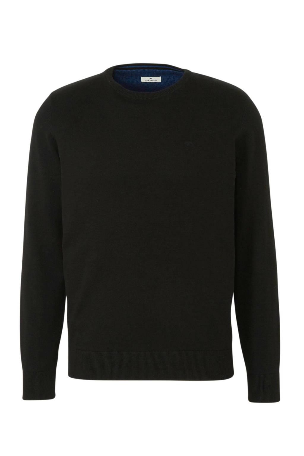 Tom Tailor trui zwart, Zwart
