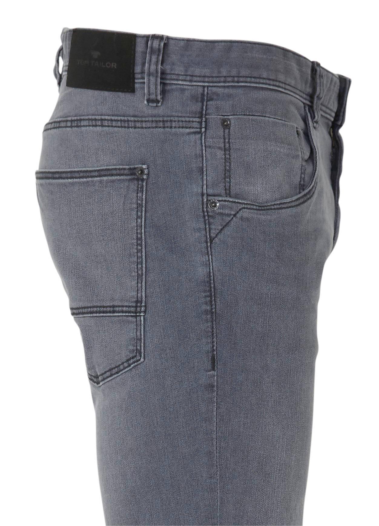 Tom Tailor slim fit jeans Josh grey denim   wehkamp