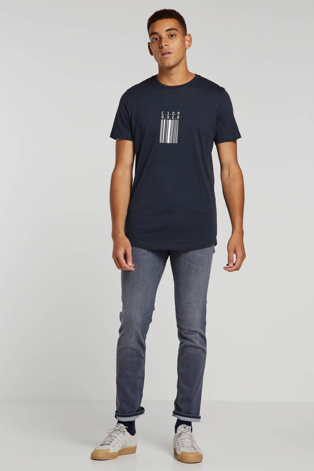 Tom Tailor slim fit jeans Josh grey denim, Grey denim
