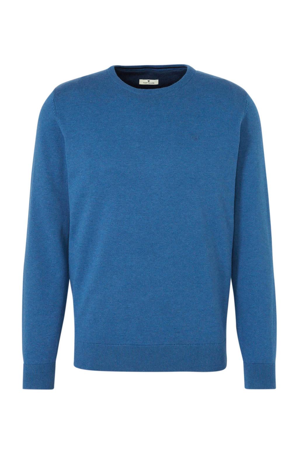 Tom Tailor trui blauw, Blauw