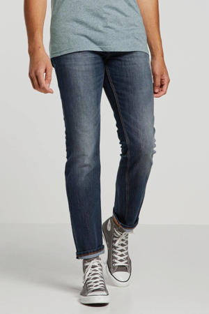 straight fit jeans Marvin mid stone wash denim