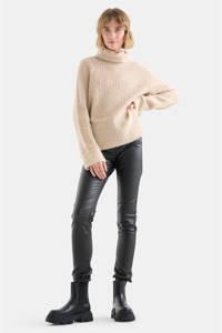 Eksept by Shoeby skinny broek Cyra zwart, Zwart