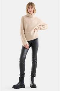 Eksept by Shoeby skinny broek zwart, Zwart