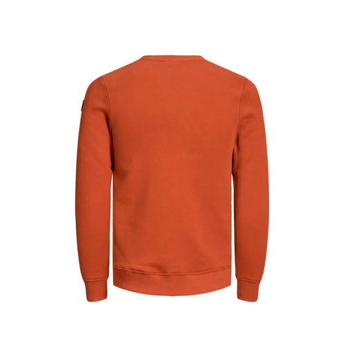 JACK & JONES PREMIUM sweater oranje