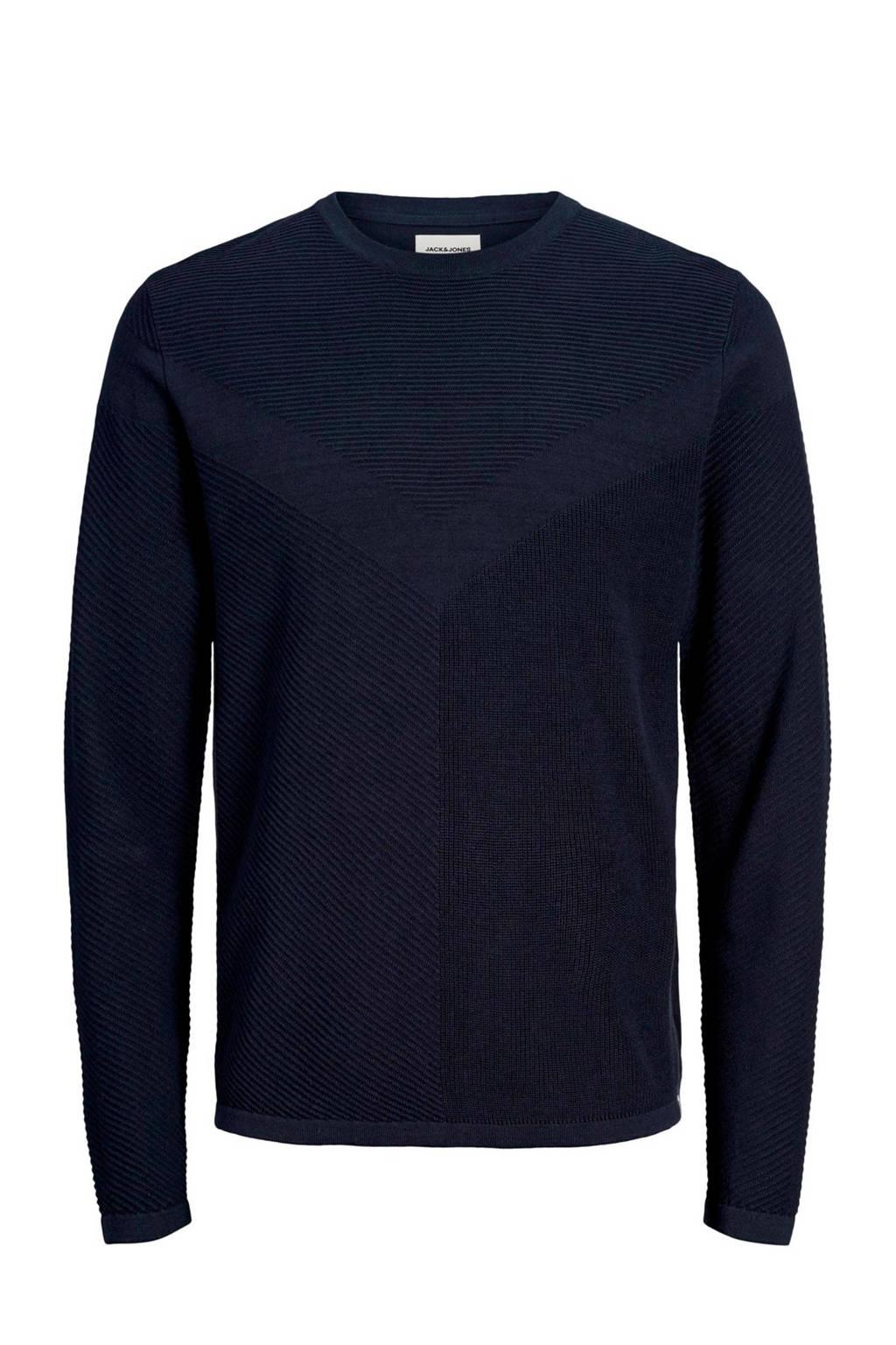 JACK & JONES CORE trui donkerblauw, Donkerblauw