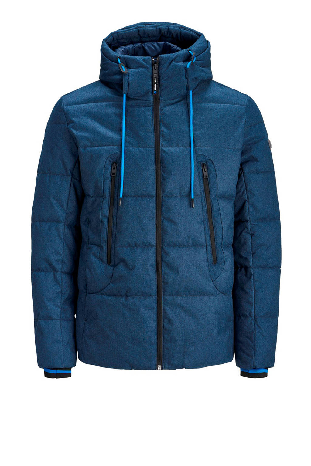 JACK & JONES CORE winterjas blauw, Blauw
