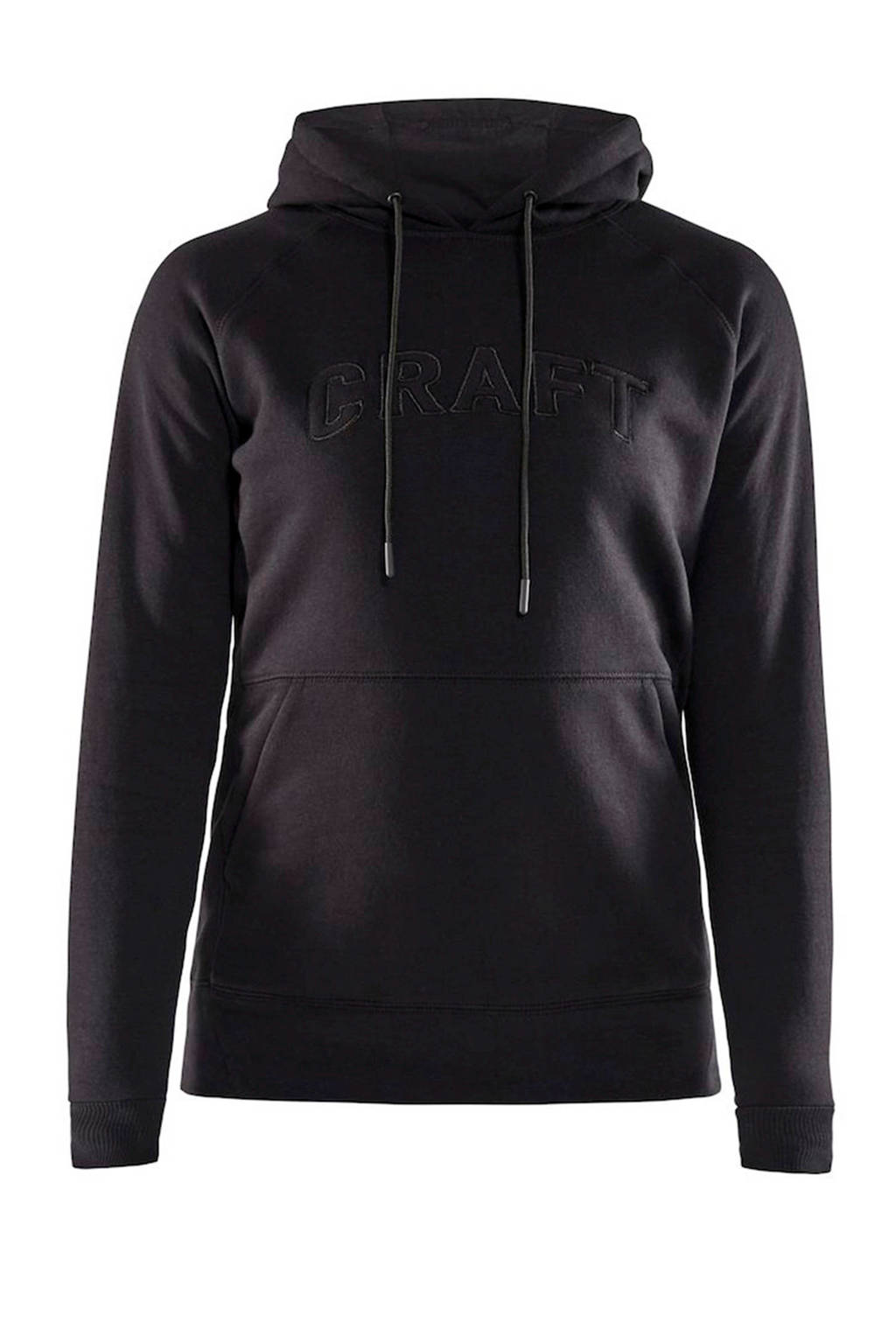 Craft hoodie zwart, Zwart