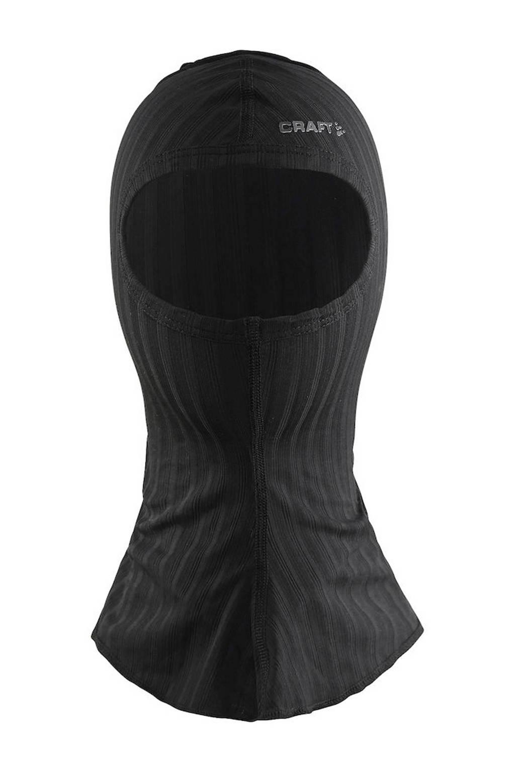 Craft   sport bivakmuts zwart, Zwart