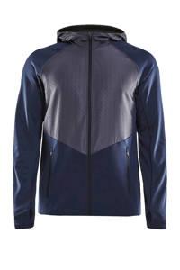 Craft   sportvest blauw/grijs, Blauw/grijs