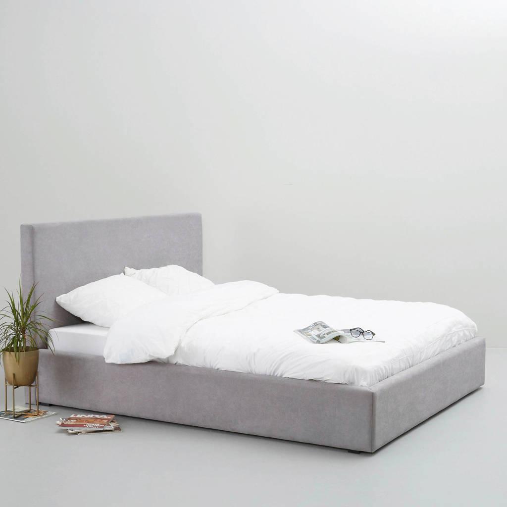 whkmp's own bed Agnes  (140x200 cm), Grijs