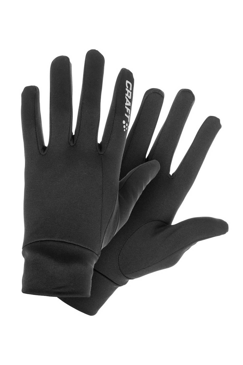 Craft   thermo handschoenen zwart, Zwart