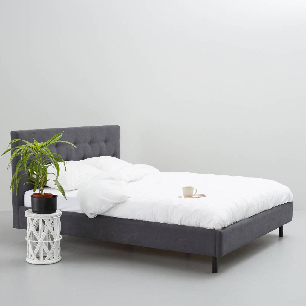 wehkamp home bed Montreal  (140x200 cm), Donkergrijs