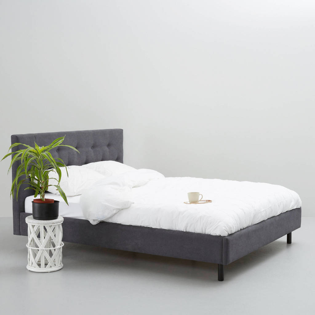 wehkamp home bed Montreal  (160x200 cm), Donkergrijs