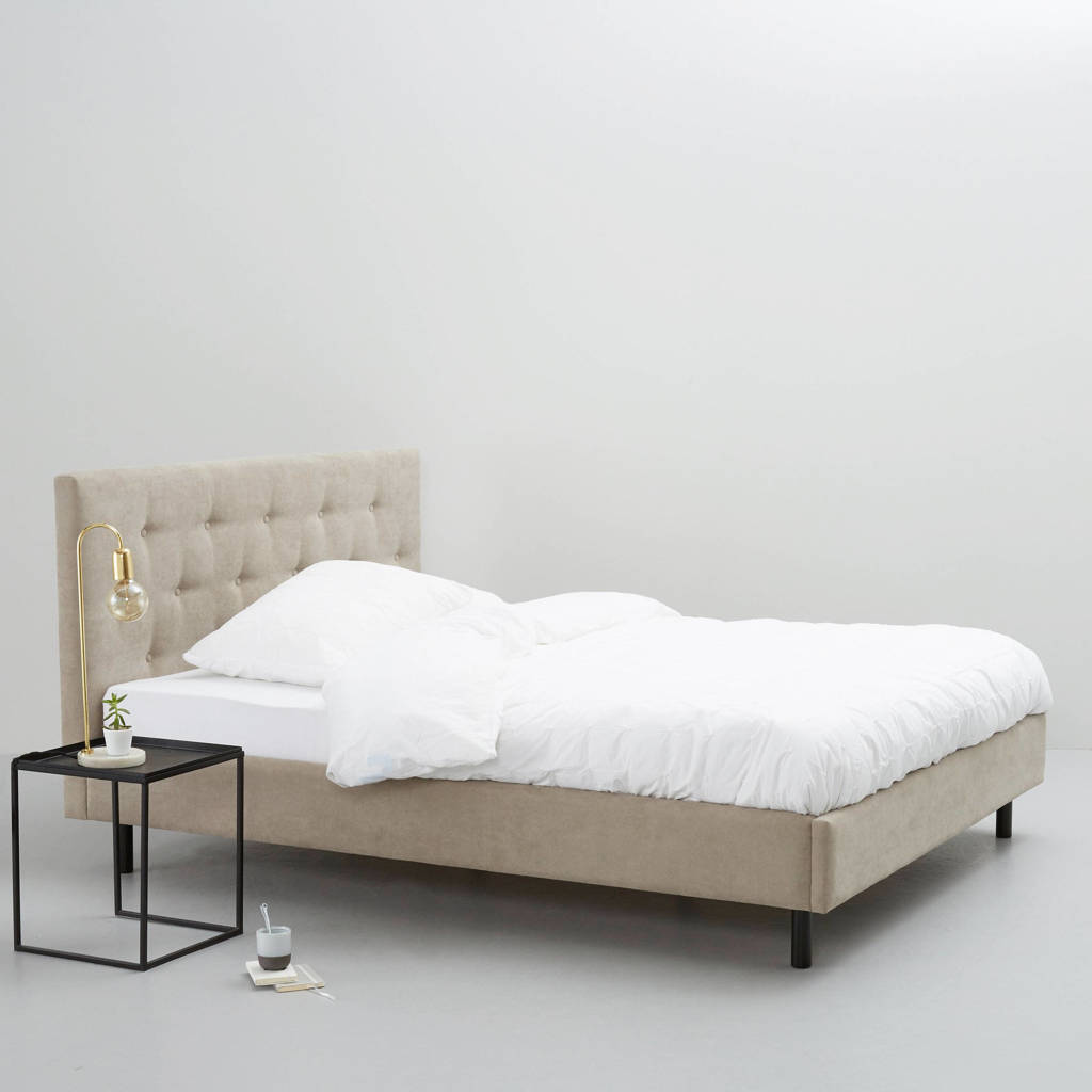 whkmp's own bed Montreal  (180x200 cm), Beige