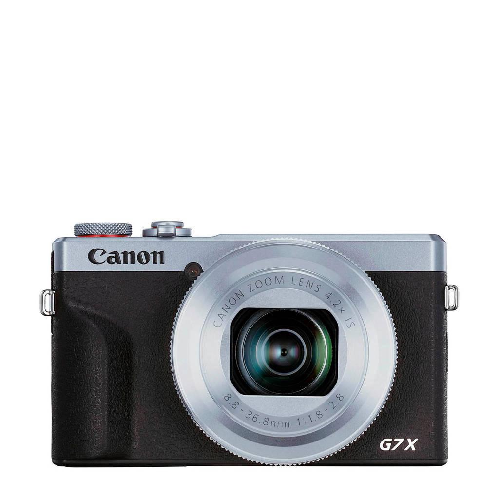 Canon  compact camera PowerShot G7X Mark III (Zilver)