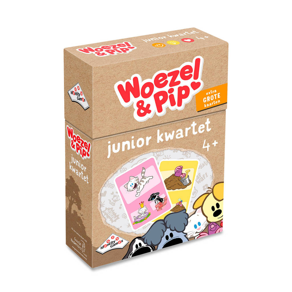 Identity Games Woezel & Pip Junior kwartet kaartspel