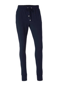 anytime loose fit legging in travel kwaliteit donkerblauw, Donkerblauw