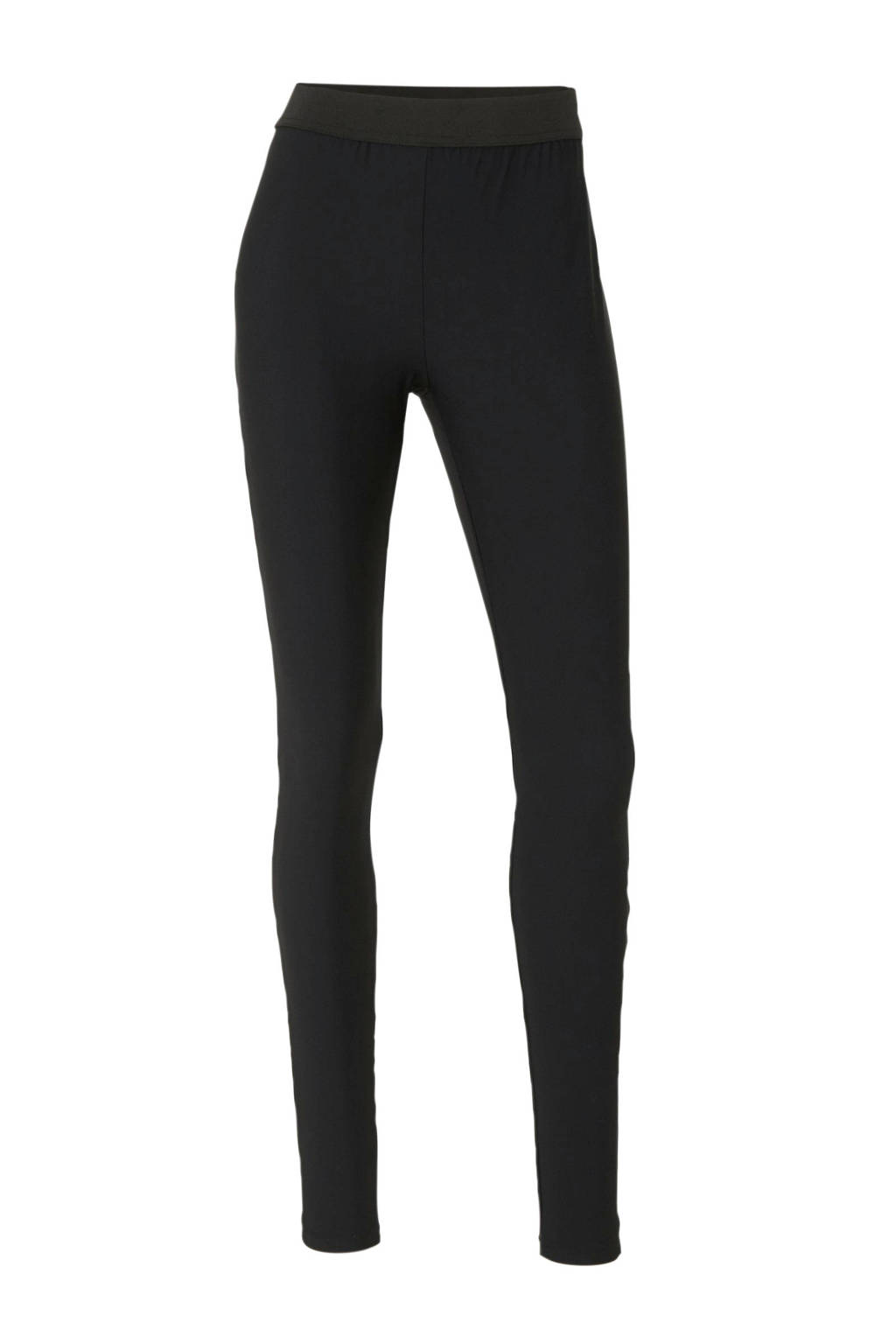 anytime legging in travel kwaliteit zwart, Zwart