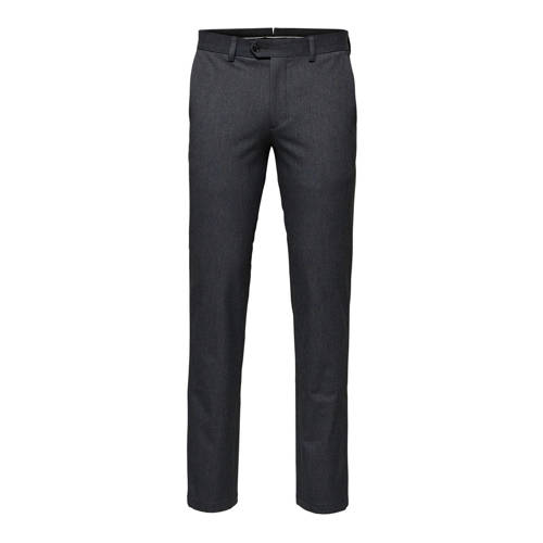 SELECTED HOMME slim fit pantalon grijs