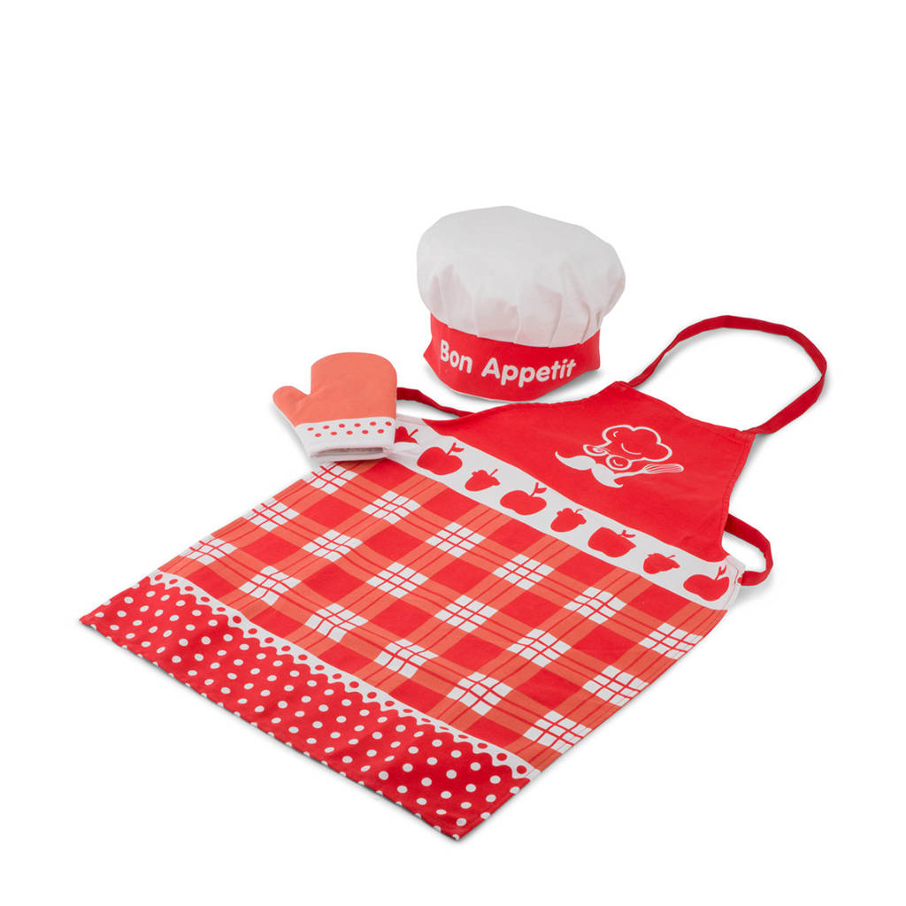 New Classic Toys  Schort - Rood