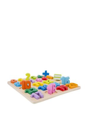 houten Getallen puzzel