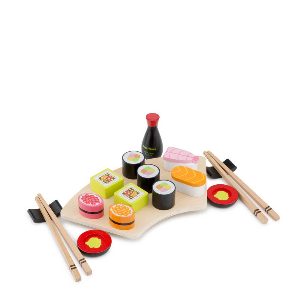 super goedkoop groothandel online koop het beste New Classic Toys houten Sushi set | wehkamp