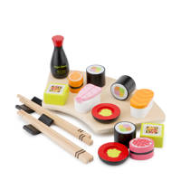 New Classic Toys houten Sushi set, Multi color
