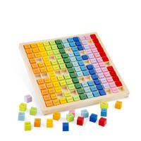New Classic Toys houten Rekentafels leren, Multi color