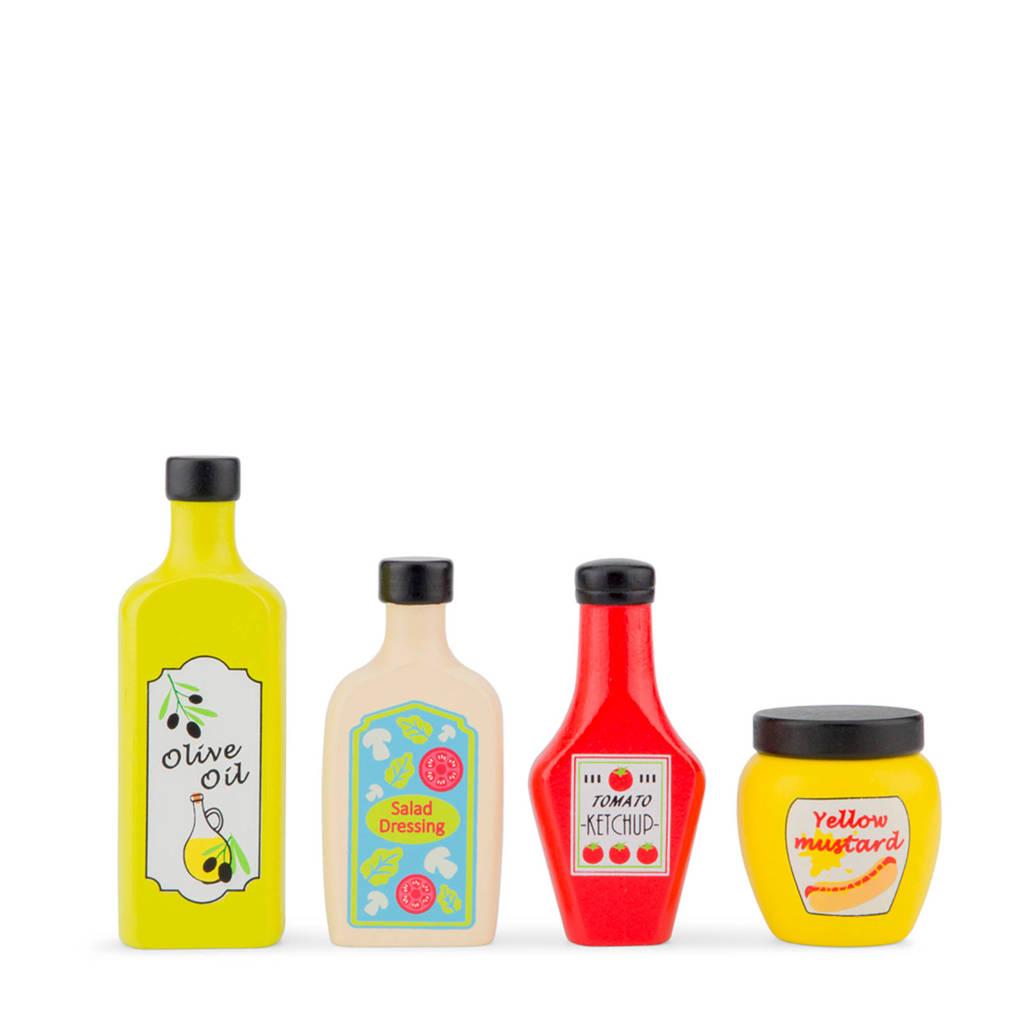 New Classic Toys houten Sauzen set, Multi color