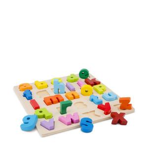 houten Alfabet puzzel (kleine letters)