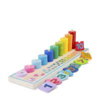 New Classic Toys houten Leren tellen, Multi color