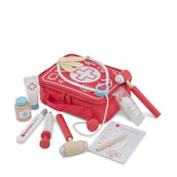 New Classic Toys houten Docter Set, Rood