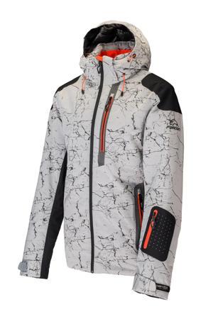 ski-jack Olov wit/zwart