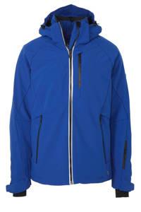 Falcon softshell ski-jack Spectrum blauw, Blauw